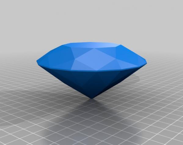 钻石 3D模型  图2