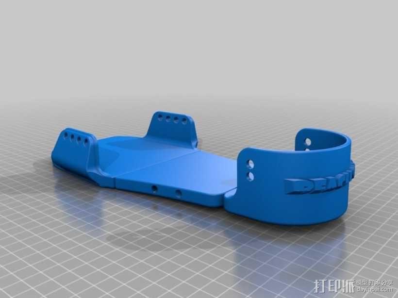 沙滩鞋 3D模型  图1