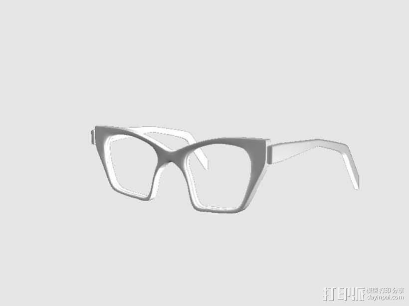 CALGARA眼镜框 3D模型  图1