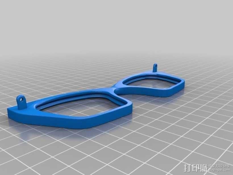 CALGARA眼镜框 3D模型  图4