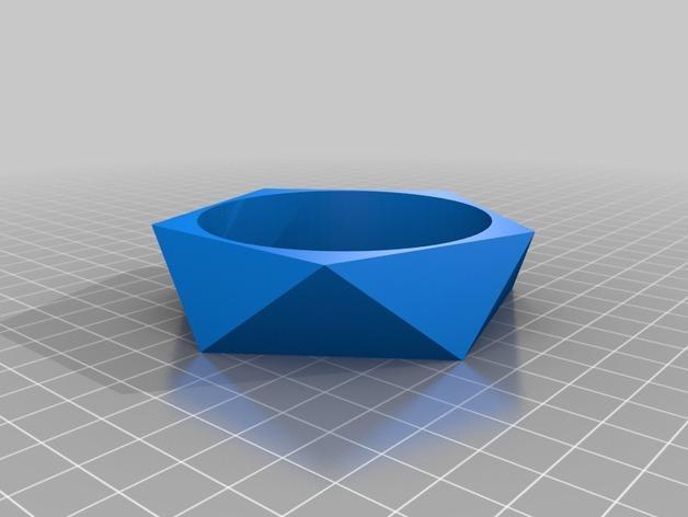 多边形几何手镯 3D模型  图2
