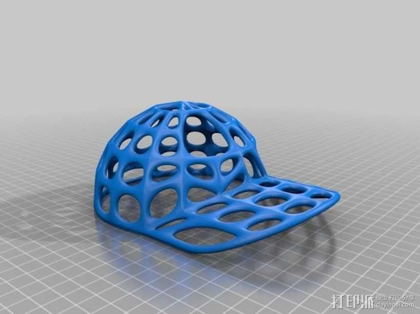 便帽 帽子  3D模型  图2