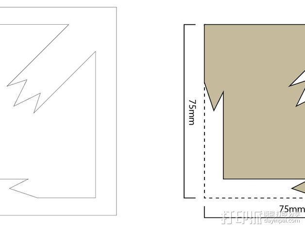 扎花工具 3D模型  图4