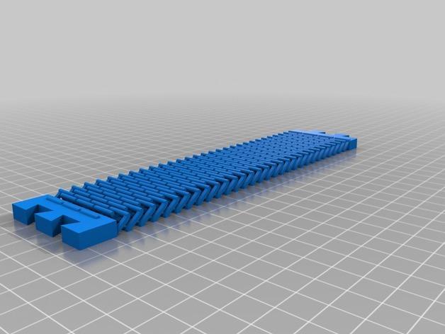 链式手镯  3D模型  图2