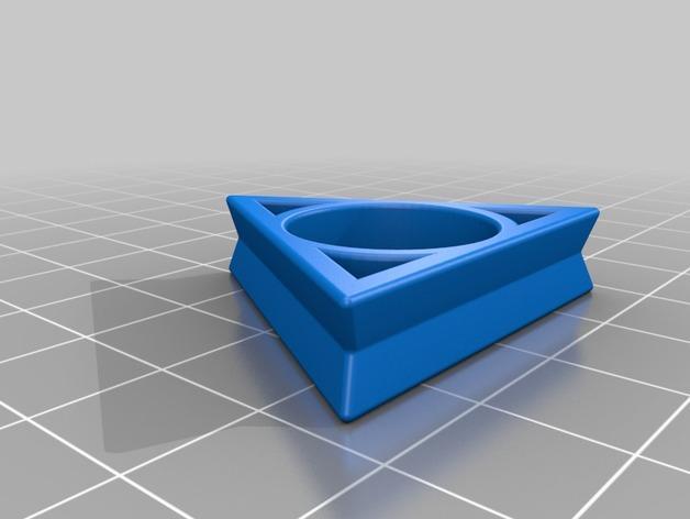 几何戒指 3D模型  图3