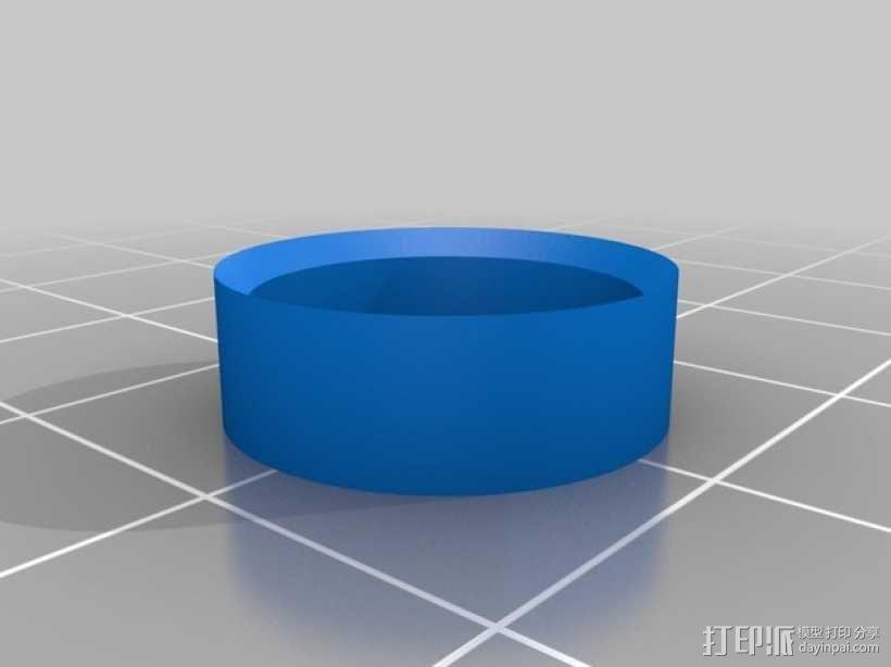 立体声无线耳机 3D模型  图4