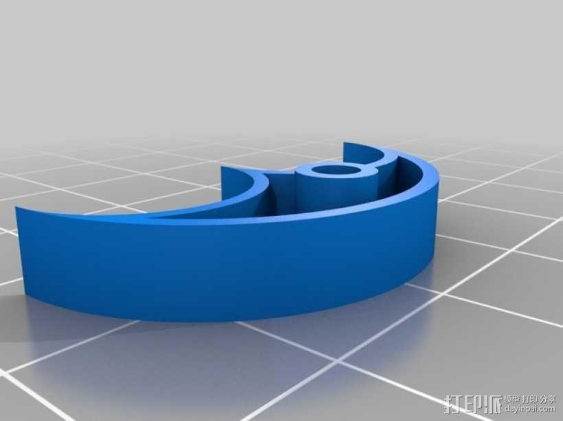 立体声无线耳机 3D模型  图5