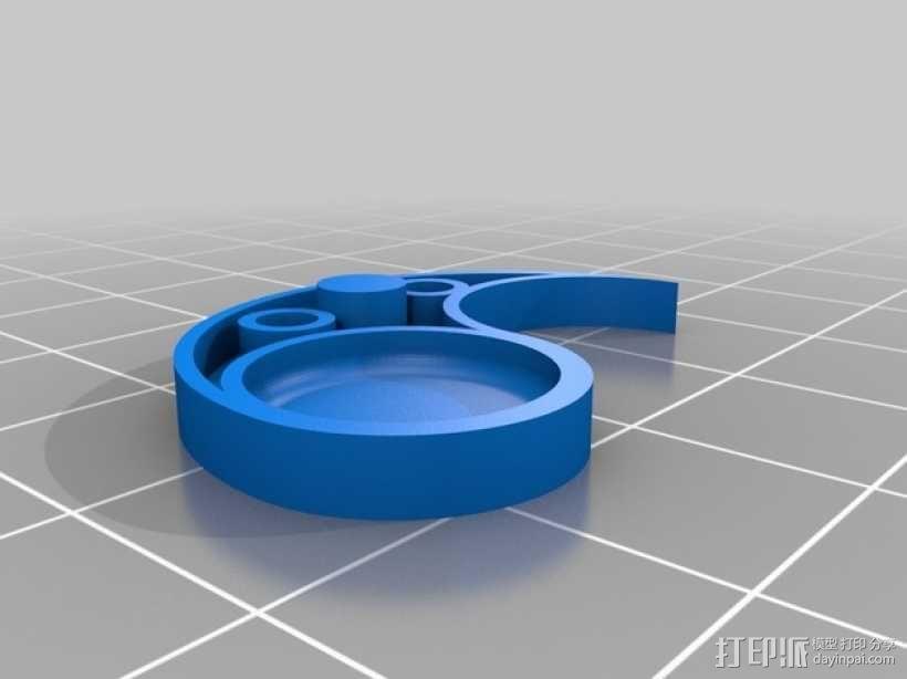 立体声无线耳机 3D模型  图7