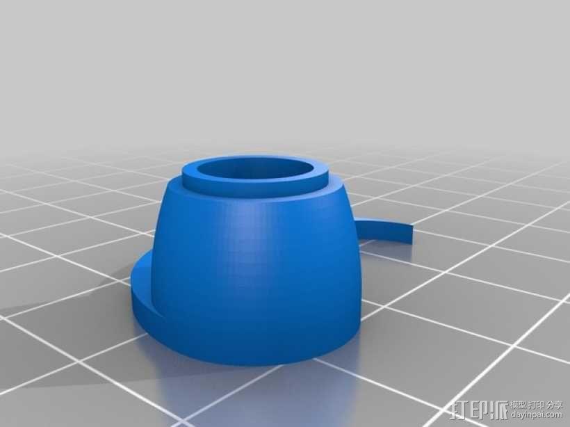 立体声无线耳机 3D模型  图8