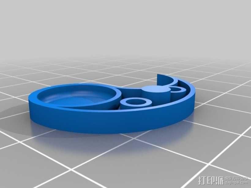 立体声无线耳机 3D模型  图9