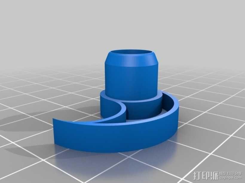 立体声无线耳机 3D模型  图11