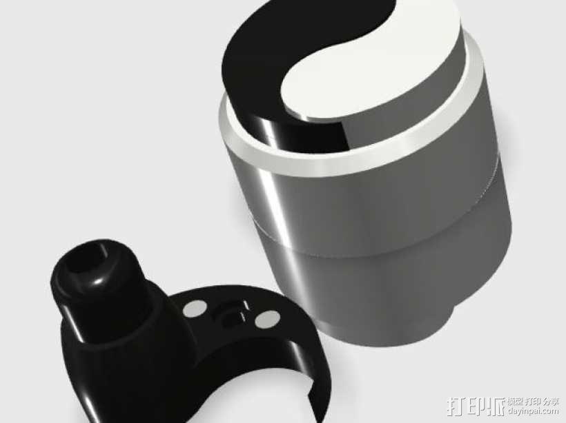 立体声无线耳机 3D模型  图17