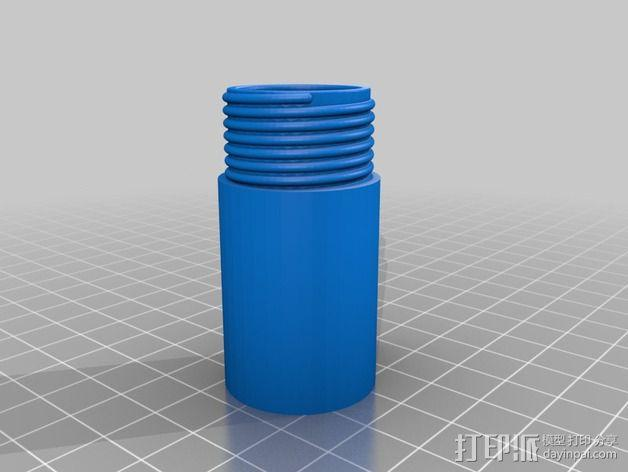 唇膏 钥匙坠 3D模型  图3