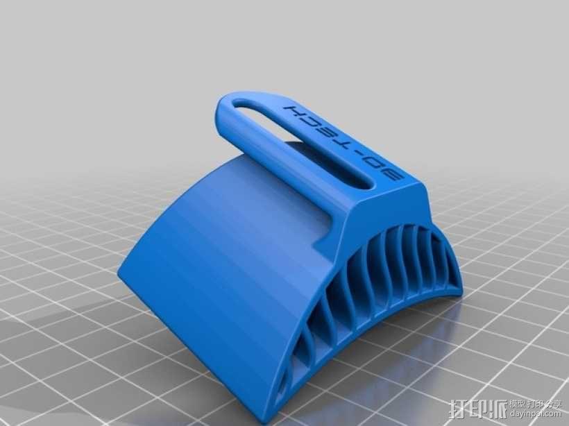 摩托车排风扇 3D模型  图1