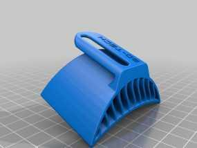 摩托车排风扇 3D模型