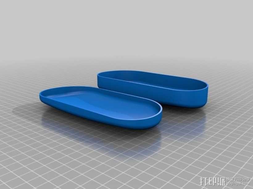 太阳镜 眼镜盒 3D模型  图1