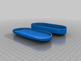 太阳镜 眼镜盒 3D模型