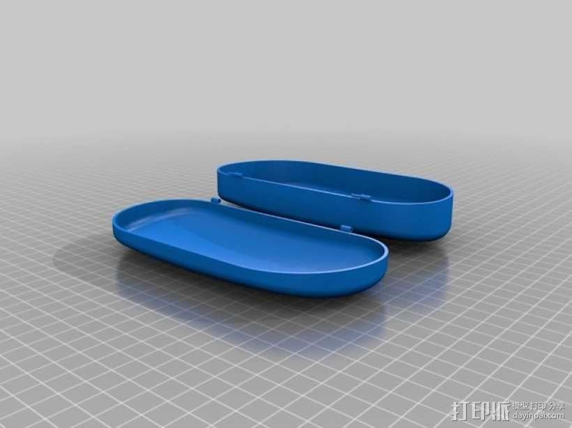 太阳镜 眼镜盒 3D模型  图2