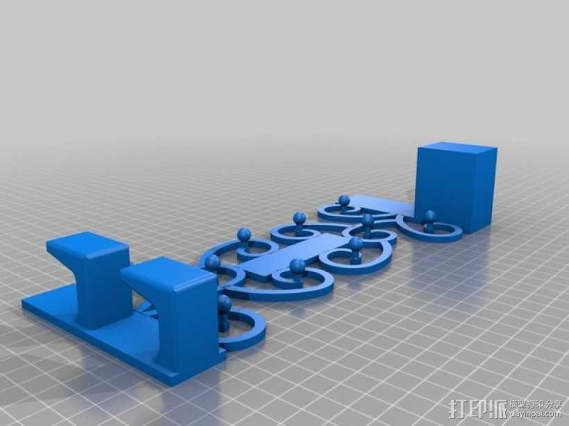 首饰挂勾 3D模型  图1