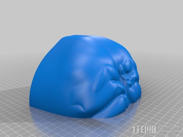 星球大战 Palpatine面具 3D模型  图3