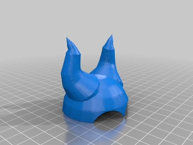 沉睡魔咒 头盔 头饰  3D模型  图4