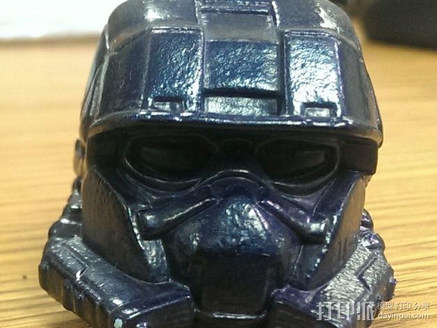 EOD机器人头盔 3D模型  图3