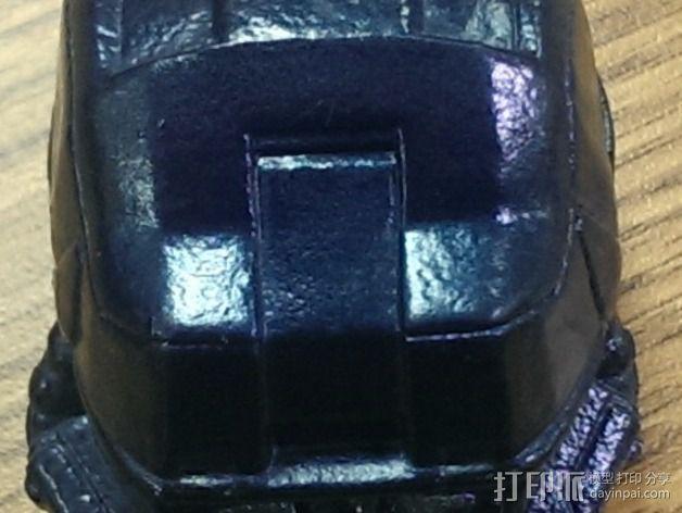 EOD机器人头盔 3D模型  图4