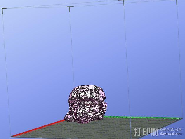 EOD机器人头盔 3D模型  图7