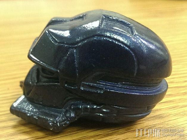 EOD机器人头盔 3D模型  图6
