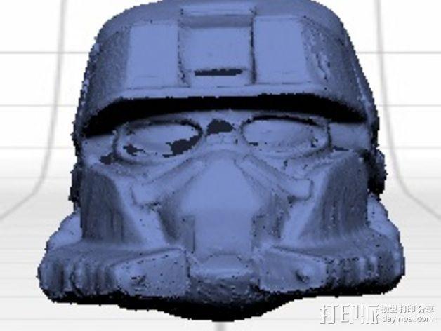 EOD机器人头盔 3D模型  图11