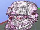 EOD机器人头盔 3D模型 图8