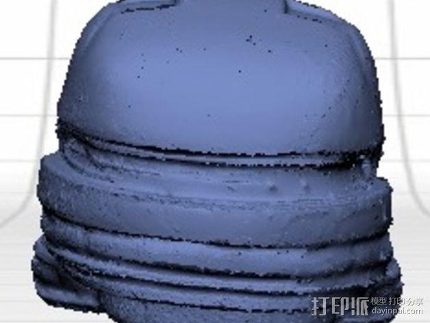 EOD机器人头盔 3D模型  图12