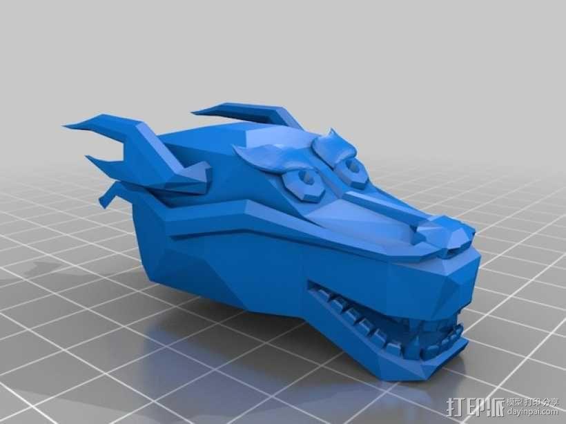 龙头手镯 3D模型  图2