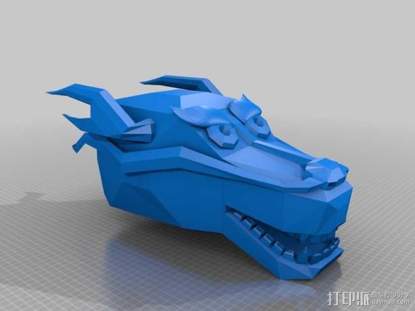 龙头手镯 3D模型  图4