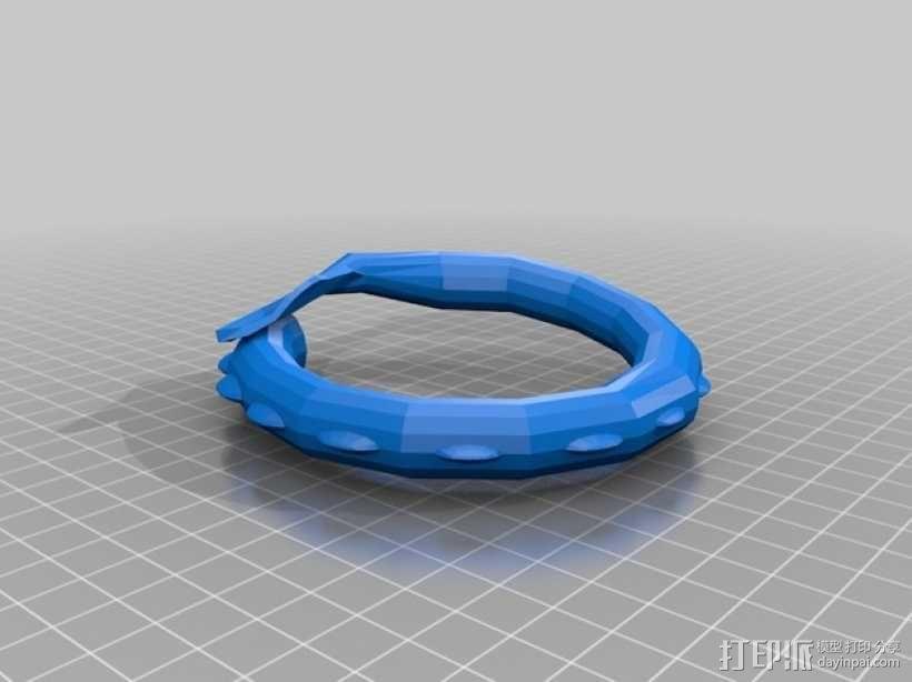 龙头手镯 3D模型  图5