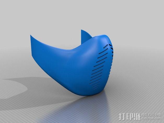 格斗之王面具 3D模型  图4