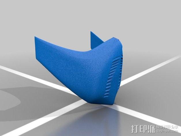 格斗之王面具 3D模型  图5
