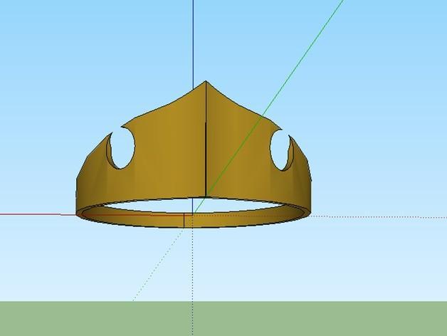 公主王冠 3D模型  图1