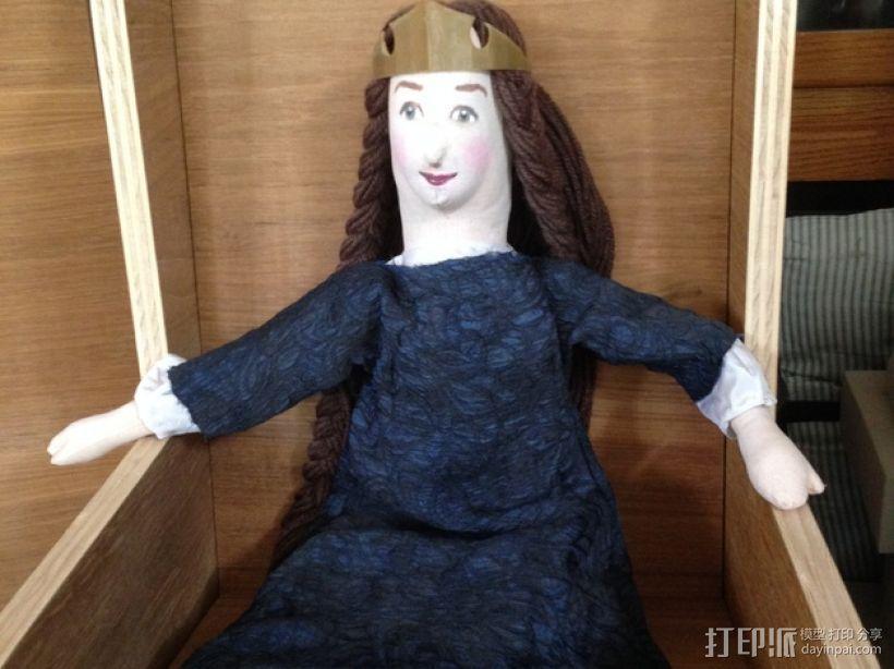公主王冠 3D模型  图4