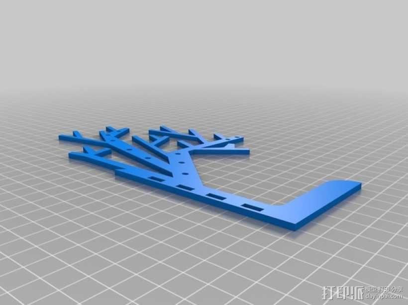 树形首饰架 3D模型  图5