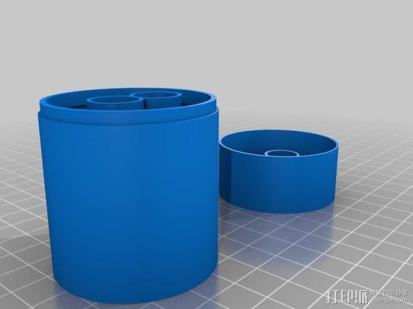 耳机收纳盒 3D模型  图1