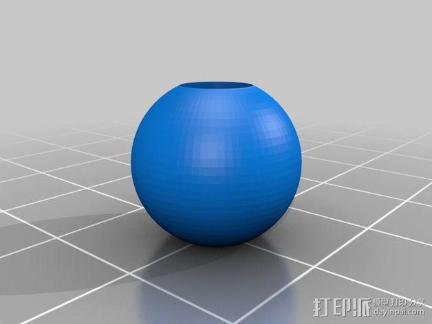 小珠子 3D模型  图1