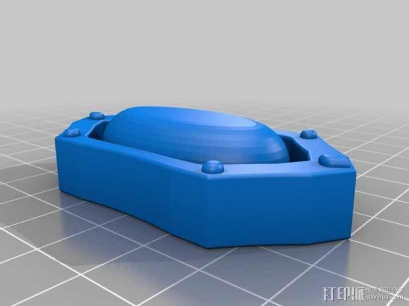 Melisandre的项链 3D模型  图3