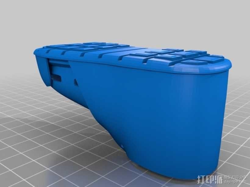 贝壳头鞋子 3D模型  图3