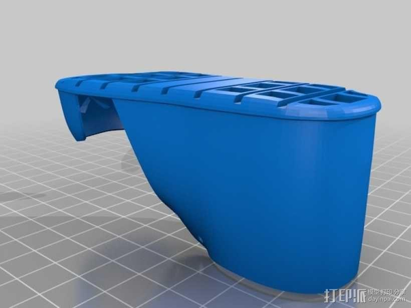 贝壳头鞋子 3D模型  图4