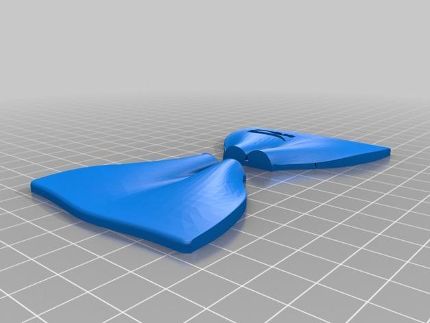 蝶形领结 3D模型  图5
