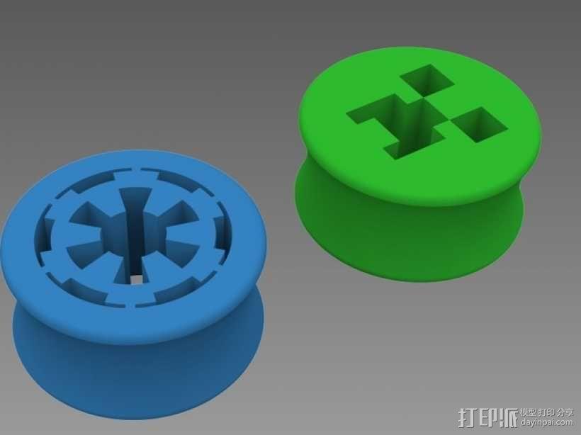 星际大战 耳塞 3D模型  图1