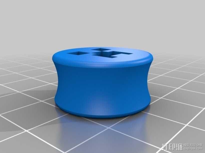 星际大战 耳塞 3D模型  图3