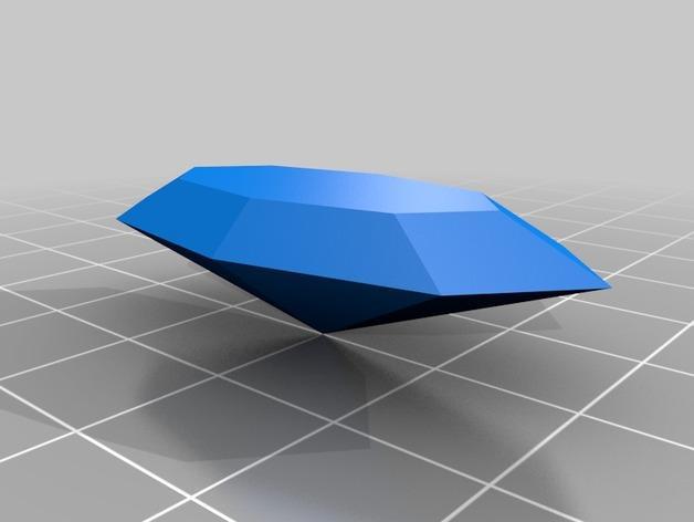 宝石吊坠 3D模型  图2