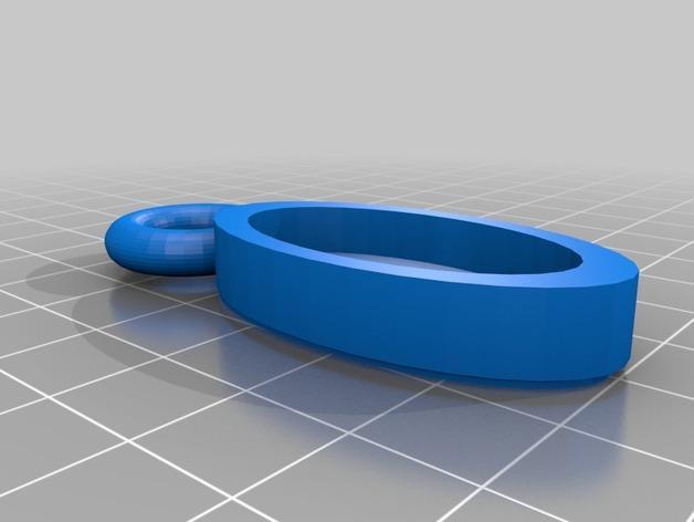 宝石吊坠 3D模型  图3